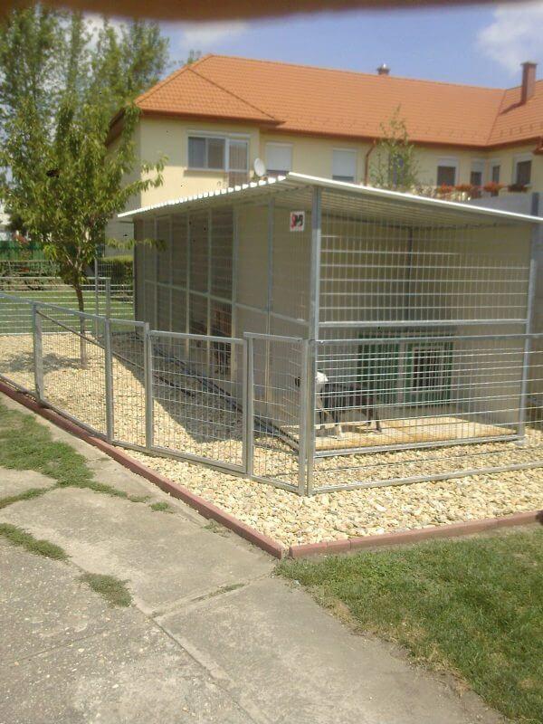 Hundezwingeranlage Thermo-Renato und Welpenauslauf